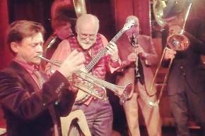 Titch Walker on trumpet