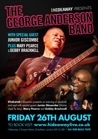 George Anderson Band + Junior Giscombe